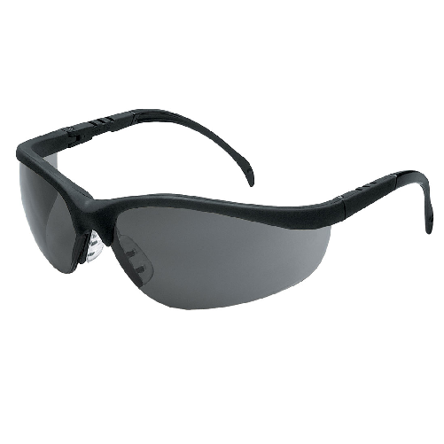 MCR KD112AF Klondike Safety Glasses Anti-Fog Gray Lens Anti-Scratch