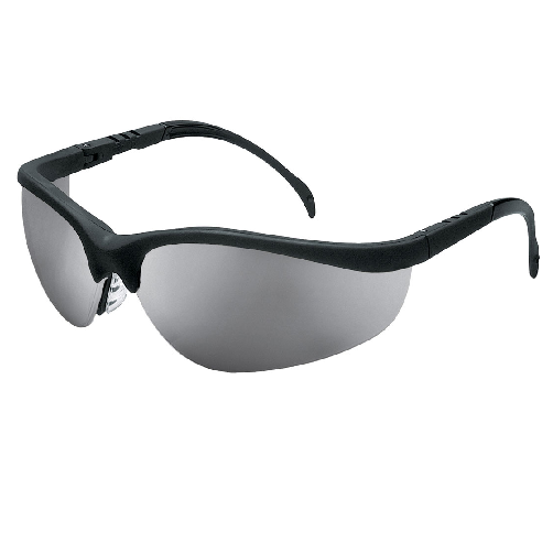 MCR KD117 Klondike Safety Glasses Silver Mirror Lens Anti-Scratch