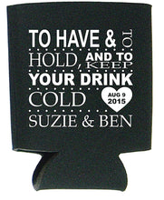 Wedding Koozies Available in Many Colors Just $1.99 Each.