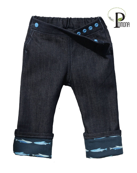 Deep Water Cuffed Jeans (TRAD)