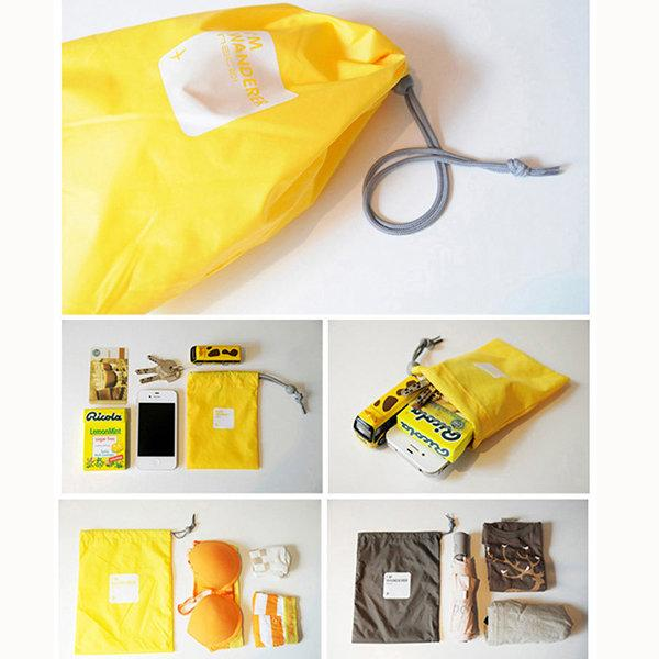 Casual 4 PCS Nylon Waterproof Beam Port Storage Bag Travel Bag