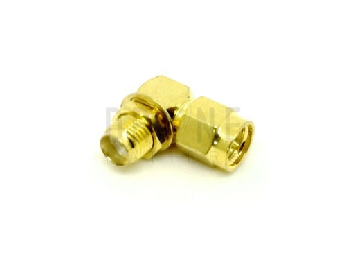 90-degree SMA Male to Female Connector