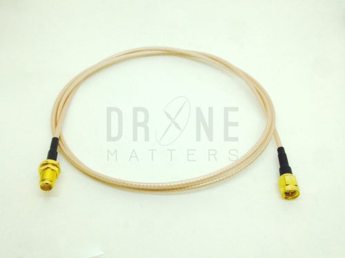 100cm Straight Male to Straight Female SMA Extension Cable