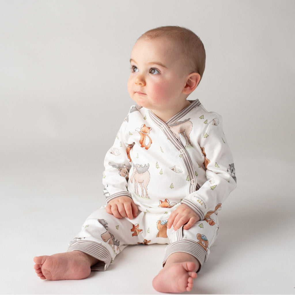 Image of Camp Cricket Romper-Apparel-Bunnies By The Bay-9-12 months-Forest Friends-bbtbay
