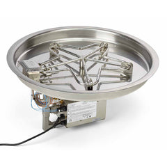 "HPC_31""_Penta_Round_Pan_Electronic_Ignition_Hi/Lo_120VAC_24VAC"