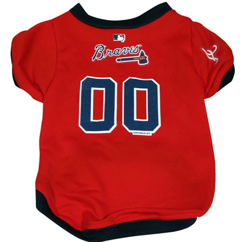 Atlanta Braves Dog Jersey - staygoldendoodle.com