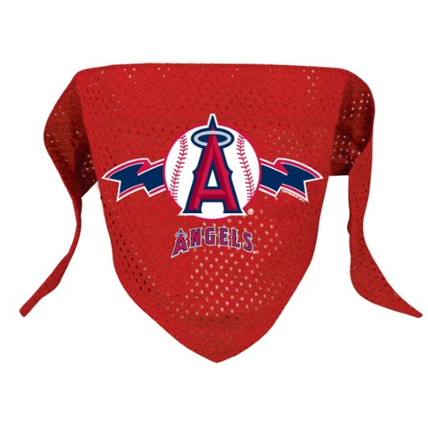 Los Angeles Angels Pet Mesh Bandana - staygoldendoodle.com