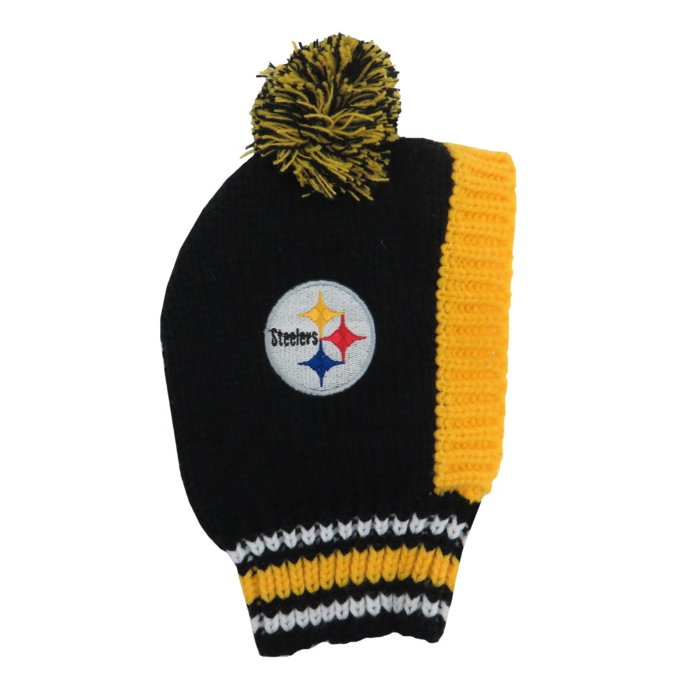 Pittsburgh Steelers Pet Knit Hat - staygoldendoodle.com