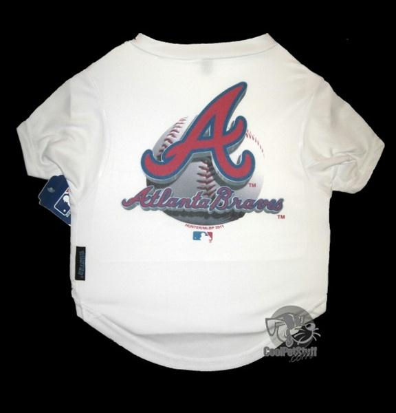 Atlanta Braves Performance Tee Shirt - staygoldendoodle.com