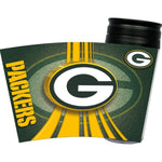 Green Bay Packers Acrylic Tumbler w- Lid - staygoldendoodle.com