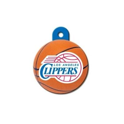 Los Angeles Clippers Circle ID Tag - staygoldendoodle.com