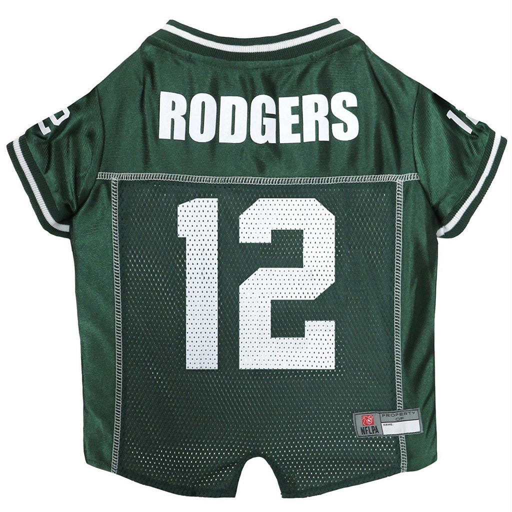 Aaron Rodgers #12 Pet Jersey - staygoldendoodle.com