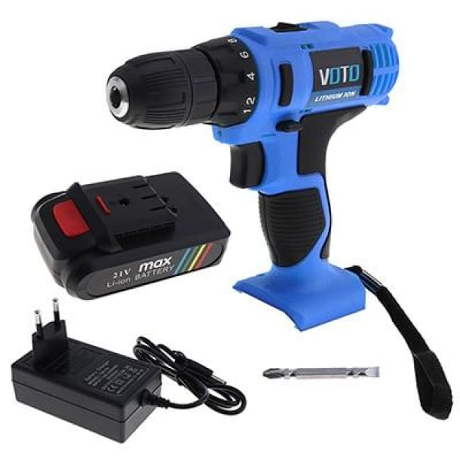 21V High End Electric Drill - Only 1 Battery 1 / Eu - Tools