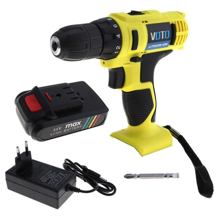 21V High End Electric Drill - Tools
