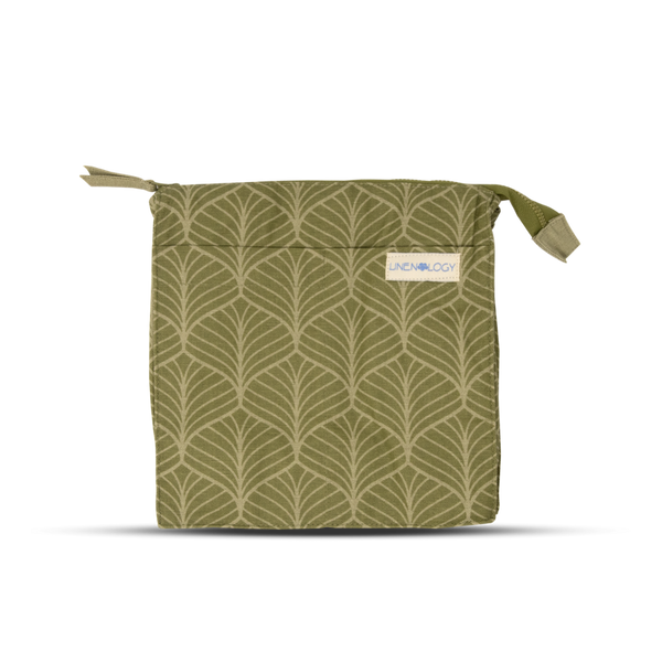 Wash Bag Tall - Abstract - Safari