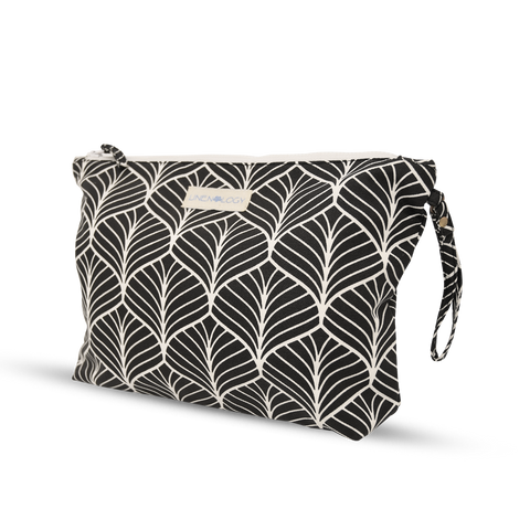Wash Bag - Abstract - Black