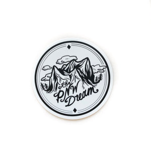 Vinyl Sticker - The PNW Dream Logo 5""