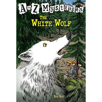 A To Z Mysteries: The White Wolf - 9780375824807 - Penguin Random House - Menucha Classroom Solutions