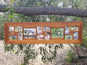 Multi Photo Frames by Wombat Frames for 2 enlargemenst and 12 standard pictures