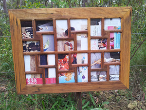 Gallery Photo Frames Australia with Multi Size Photo Collage Frames in Recycled Timber