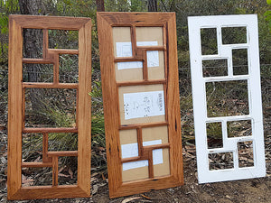 Australian Recycled Timber 9-opening Eco Friendly recycled timber  photoframes