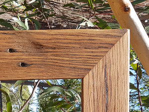 Recycled Brown Gum Frame Look Custom Picture Framing Australia Wombat Frames