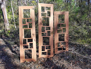 Multi photo collage frames Eco Friendly Australian recycled timber