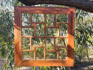 Multi Photo Frame Wooden 16 openings Square Photo Frame in Eco Friendly Recycled Timber