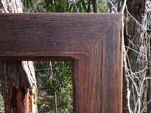 Recycled Red Gum Custom Picture Framing and Mirrors Australia at Wombat Frames