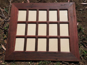 Australian made Eco Friendly Wedding Photo Frame for 15 Pictures