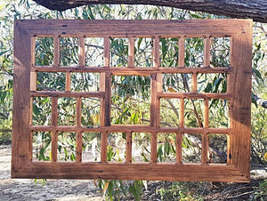 Large Recycled Timber Collage Frame Eco Friendly made in Australia