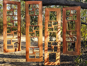 Wooden gallery  photo frames Australia made with Eco friendly recycled timber