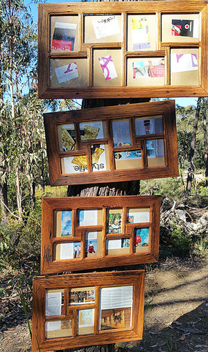 Recycled Timber Multi Collage Picture Frames Australia
