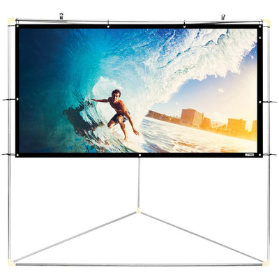 "Pyle Home(R) PRJTPOTS71 Portable Outdoor Projection Screen (72"""")"