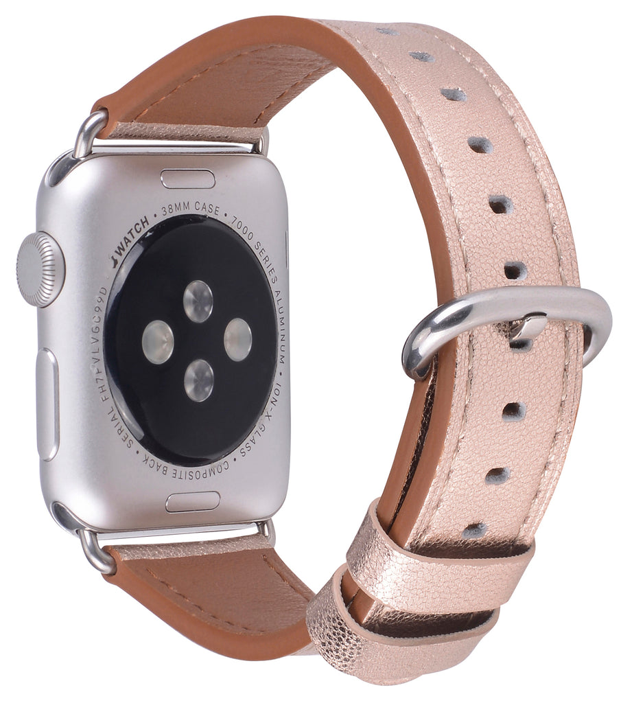 Apple watch band 38mm 40mm Champagne Gold