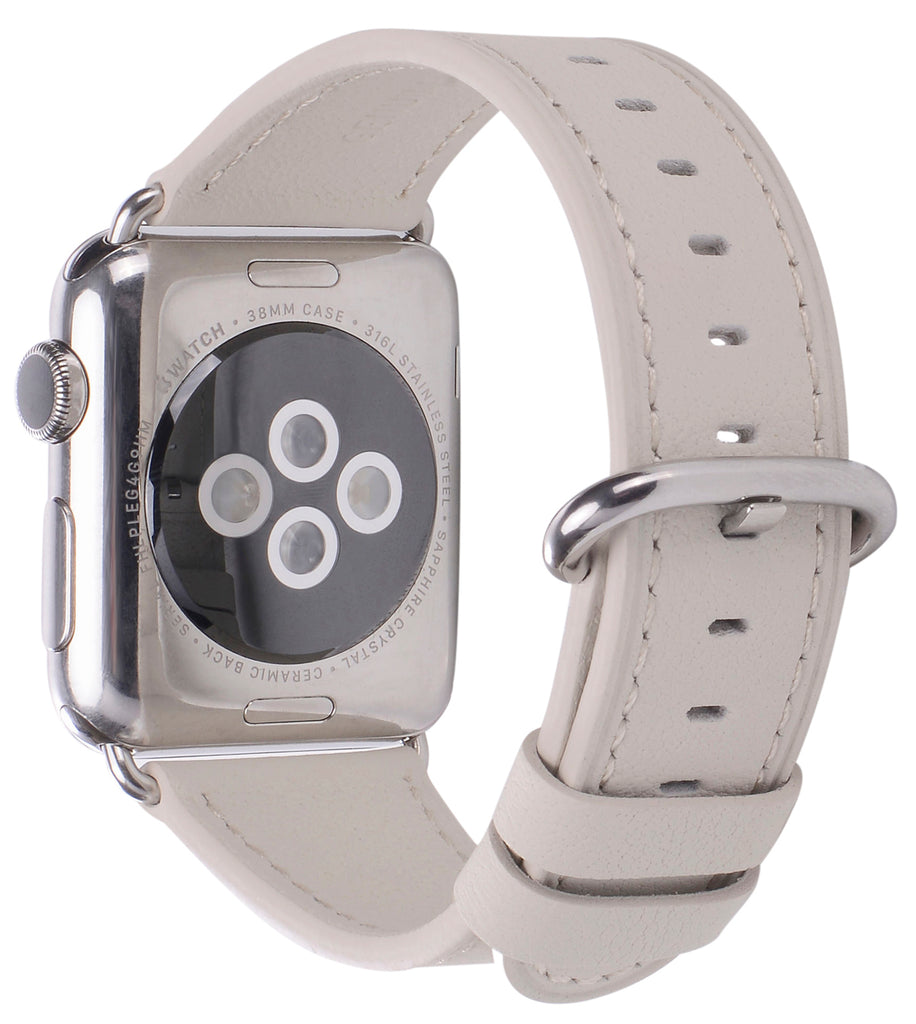Apple watch band 38mm 40mm Creamy White