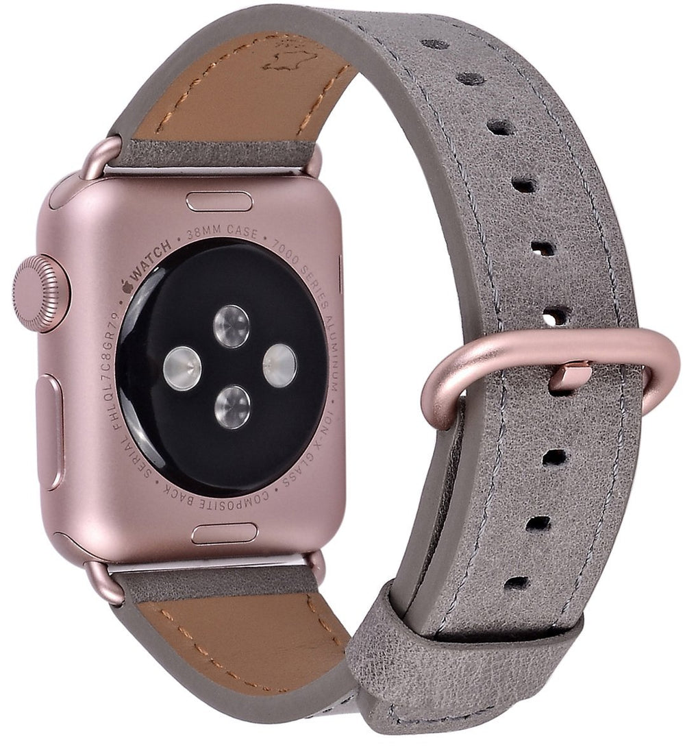 Apple watch band 38mm 40mm 42mm 44mm Taupe Rose gold Aluminum