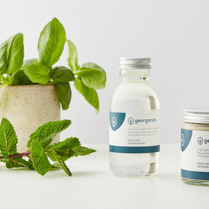 Oil Pulling Mouthwash - English Peppermint - The Wild Tree