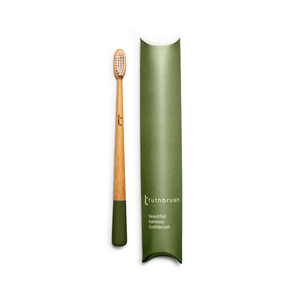 Bamboo Toothbrush - Olive - Truthbrush