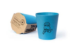 Toothbrush Mug - Kids - Blue - The Wild Tree