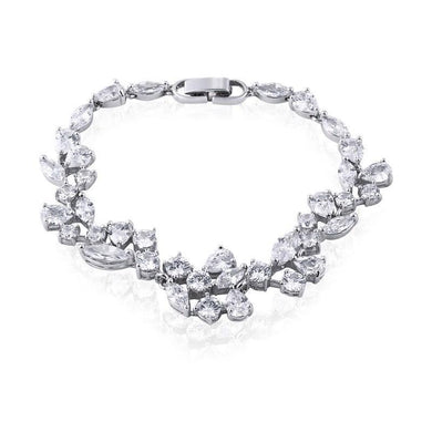 Clara Simulated Diamond Bracelet