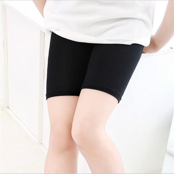 Summer Girls Safety Shorts Pants Underwear Leggings 3-13 Years Old