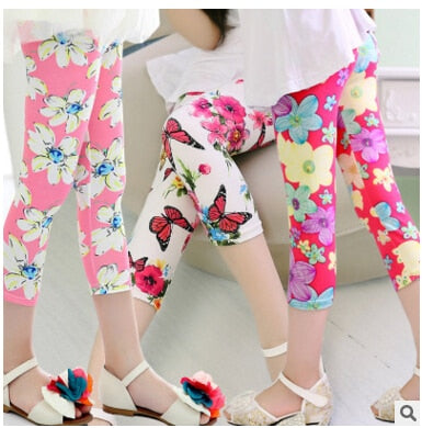 2019 Hot & New Girls leggings summer pant girls Leggings
