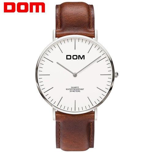 DOM watch homme classique