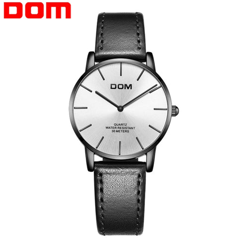 montre DOM watch femme fashion