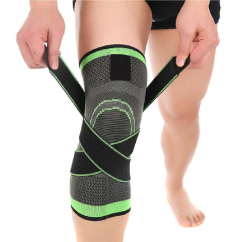 Knee Brace | Elastic With Velcro Strap Support-Braces-Ambitious Athletic Goods
