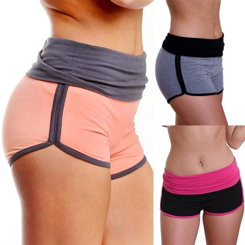 Women's High Waist Exercise Shorts 4 Colors-Women's Shorts-Ambitious Athletic Goods