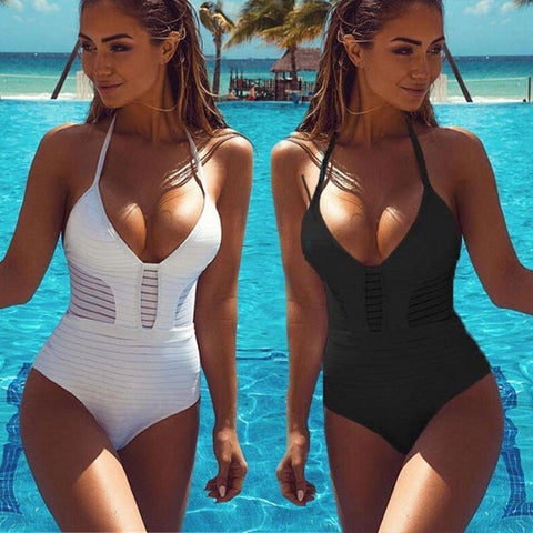 Women's One Piece Swimsuit | Tankini | 3 Colors-Women's One Piece Swimsuits-Ambitious Athletic Goods