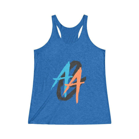 Women's Tank Top | A.A.G. Exclusive Design - Black Logo | 14 Colors-Women's Tank Tops-Ambitious Athletic Goods