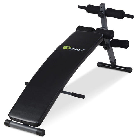 Workout Bench | Declined Supine-Benches-Ambitious Athletic Goods